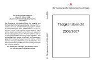 21. Tätigkeitsbericht des Hamburgischen Datenschutzbeauftragten ...