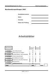 2007 M RW Arb - Wirtschaftsschule KV Chur