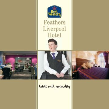 Feathers brochure - Feathers Hotel Group - UK.COM