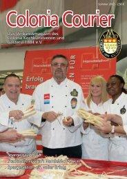 Sommer 2012 - Colonia Kochkunstverein und Gasteria 1884 eV