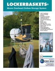 a copy of the lockerbasket brochure - Equipment World Inc.