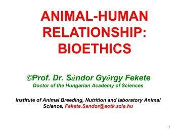 Prof. Dr. Sándor György Fekete - Dietvet-Holistic Bevezetés