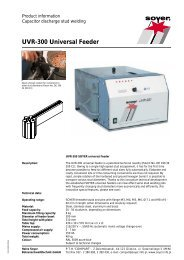 UVR-300 Universal Feeder - Soyer