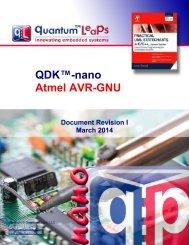 QDK-nano AVR-GNU - Quantum Leaps