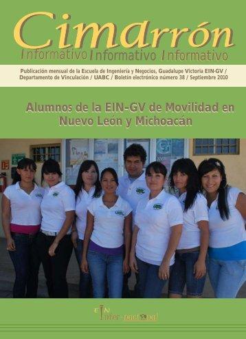 Cimarrón 38 final - Universidad Autónoma de Baja California