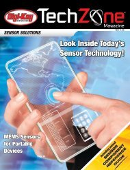 Sensor Solutions TechZone Magazine, May 2011 - Digikey
