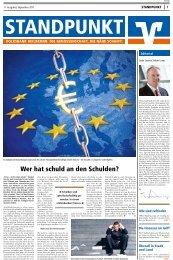 Standpunkt - 11. Ausgabe, September 2011 - Volksbank Heilbronn eG