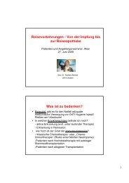 Reisevorkehrungen - Von der Impfung bis zur Reiseapotheke Was ...