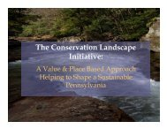 The Conservation Landscape Initiative - Water Resources Education ...