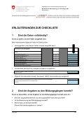 Plausibilisierung und Aggregation der Daten durch die ... - SBBK - Seite 4