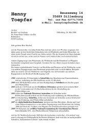 Brief an Bischof Tebartz van Elst - Wir sind Kirche