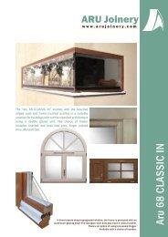 "The ""Aru 68 CLASSIC IN"" window - aru joinery"