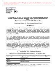 1 Permohonan CRP No. 2012/1 - ADB Compliance Review Panel