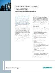 Pressure Relief TechSheet.indd - Siemens