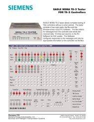 EAGLE NEMA TS-2 Tester FOR TS-2 Controllers - Temple, Inc.