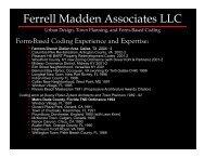Ferrell Madden Associates LLC