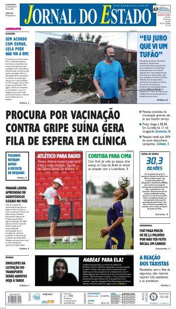 procura por vacinação contra gripe suína gera fila de ... - Bem Paraná