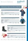 Arbeitsschutz: Alles für den Winter 2006/2007 - sudhoff technik GmbH - Page 7