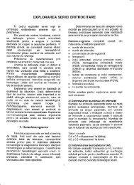 EXPLORAREA SERIEI ERITROCITARE - OvidiusMD