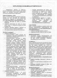 EXPLORAREA ECHILIBRULUI FOSFOCALCIC - OvidiusMD