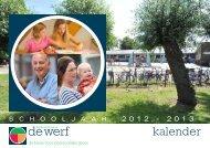 kalender - Basisschool De Werf
