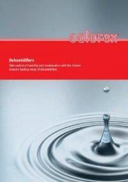 download Dehumidification Brochure - Calorex