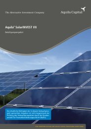 Aquila® SolarINVEST VII - Fondsvermittlung24.de