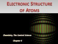 For electrons - Wits Structural Chemistry