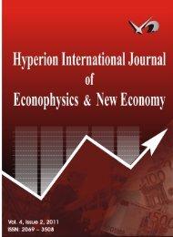 Volume 4, Issue 2, 2011 - hyperion international journal