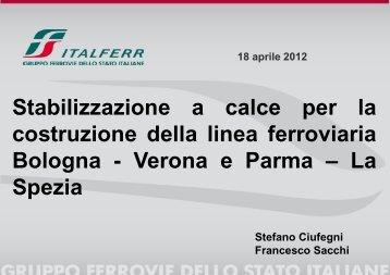 Stabilizzazione a calce per la costruzione delle linee ferroviarie ...