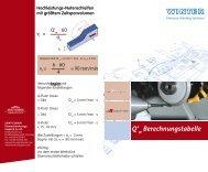 Q'w Berechnungstabelle - Saint-Gobain Diamantwerkzeuge GmbH ...