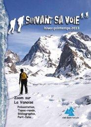 programme 2013 - Club Alpin Francais - Albertville