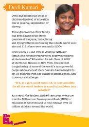 Devli Kumari - Global Campaign for Education