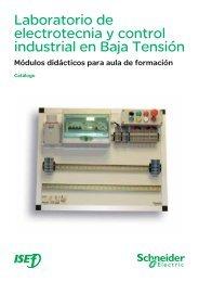 Laboratorio de electrotecnia y control industrial ... - Schneider Electric