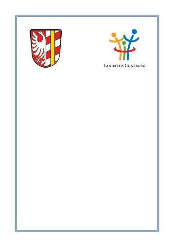 Sicherstellung von Betreuung und Pflege - Landkreis Günzburg