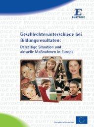 Geschlechterunterschiede bei Bildungsresultaten ... - EACEA - Europa