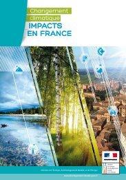 impacts en france - Ministère du Développement durable