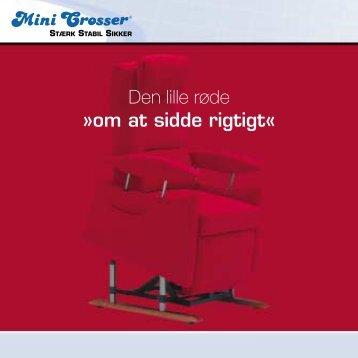 Den lille røde »om at sidde rigtigt« - Mini Crosser
