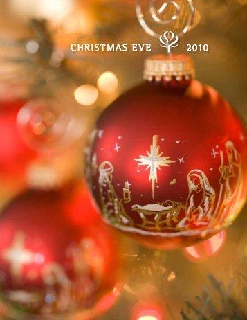 Christmas EvE 2010 - Peachtree Presbyterian Church