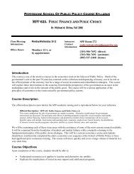 MPP 625. P - Meet the Faculty
