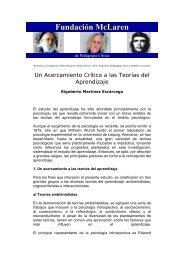 """""""Un Acercamiento Crítico a las Teorías del Aprendizaje"""". - UAEH"""