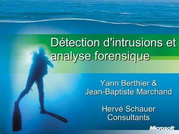Version PDF - Herve Schauer Consultants