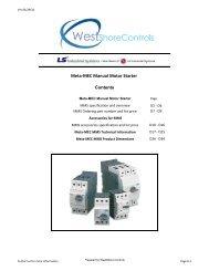 Meta-MEC MMS Price Book - West Shore Controls