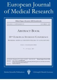 European Journal of Medical Research - Deutsche AIDS ...