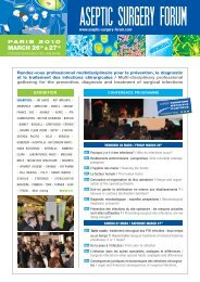 MARCH 26TH & 27TH - Société française d'arthroscopie