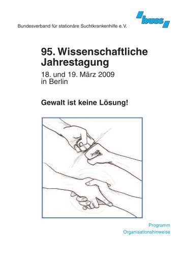 95. Wissenschaftliche Jahrestagung - Bundesverband für stationäre ...