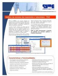 Folleto - Cyme International