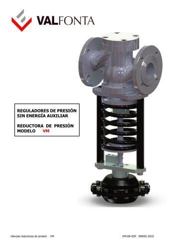 Valvula reductora de presion pilotada con mando - Valvula reductora de presion ...