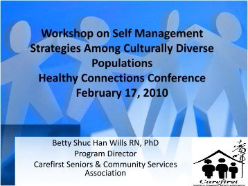 Self Management Strategies Among Culturally Diverse Populations