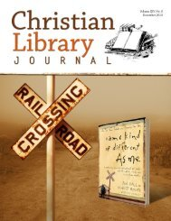 middle school fiction - Christian Library Journal